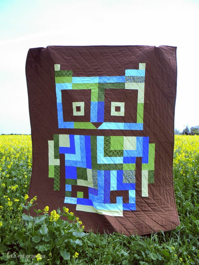 Hootenany Quilt by Let's Eat Grandpa