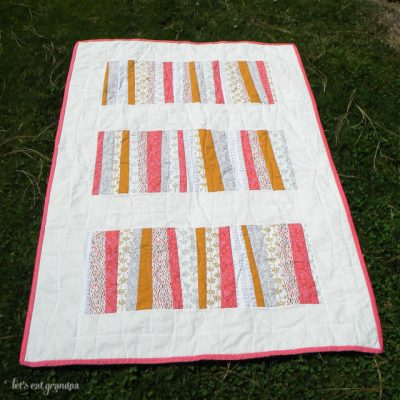 Sherbet and Stripes Quilt!