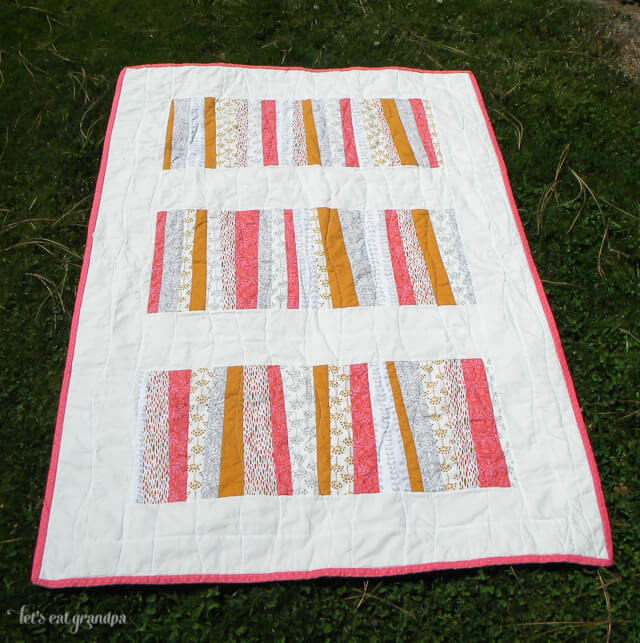 Sherbet and Stripes Quilt