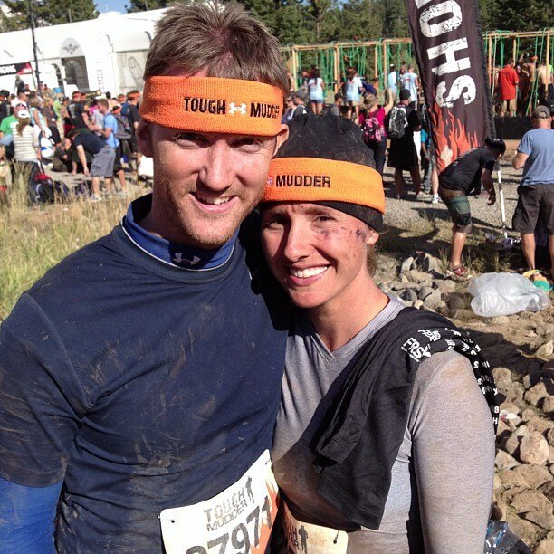Tough Mudder Me and Ryan After
