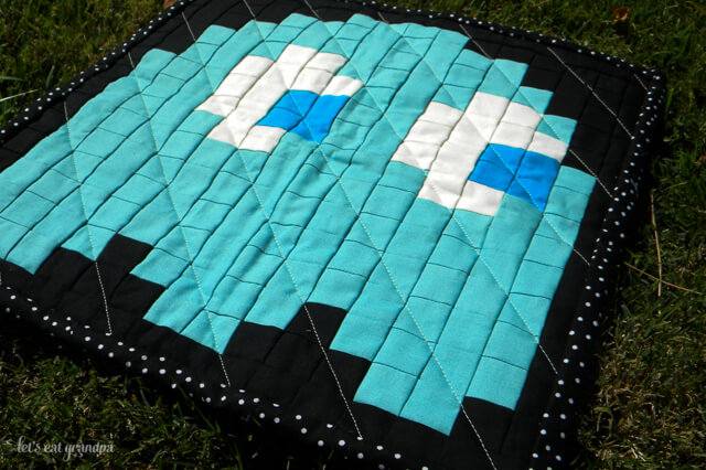 PacMan Pixel Quilt