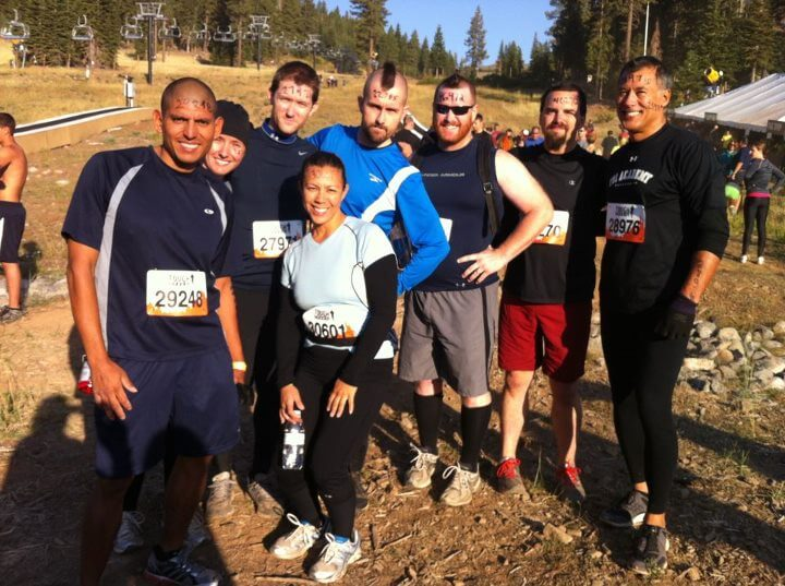 Tough Mudder Group Before