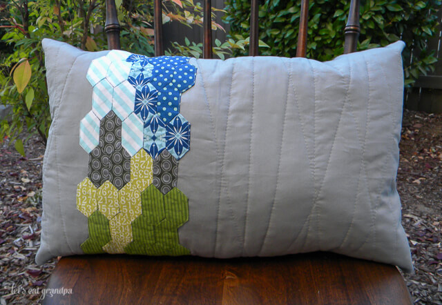 Seattle in the Summer EPP Pillow by Let's Eat Grandpa