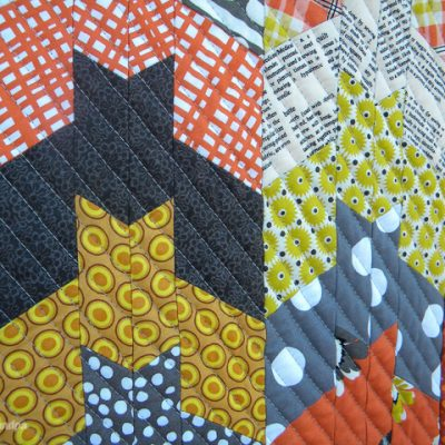 Barn Bats Mini Halloween Quilt