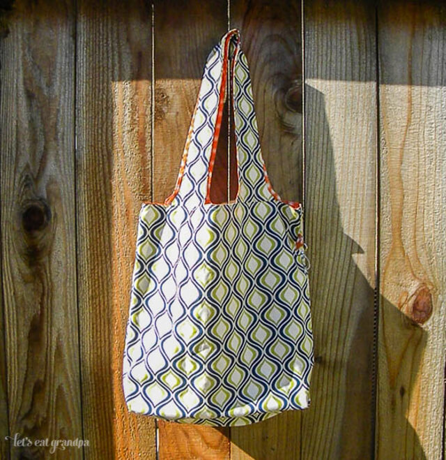 Compact Grocery Tote | Made by Let's Eat Grandpa