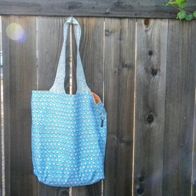 Another Compact Grocery Tote!