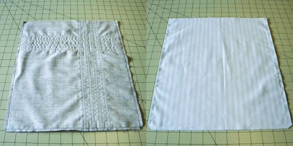 Ribbon Tote exterior pieces