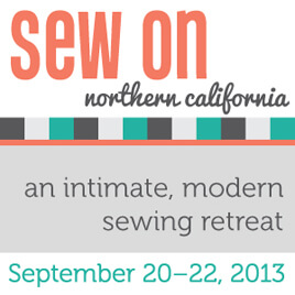 Sew On Retreat!!