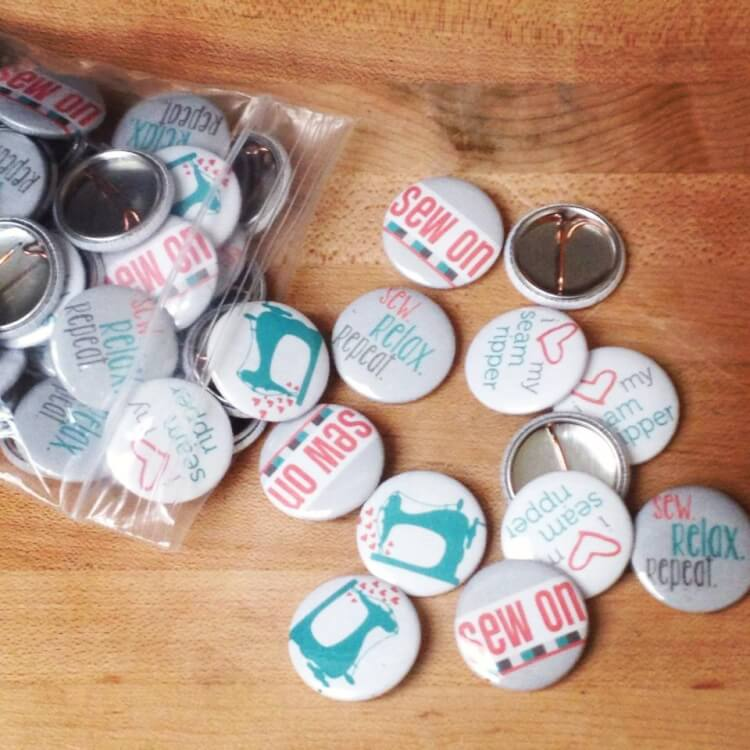 Sew On Retreats Buttons Let's Eat Grandpa