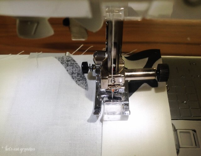 Sewing just five straight lines, you can make your own curtains! So much stronger than just using hem tape.