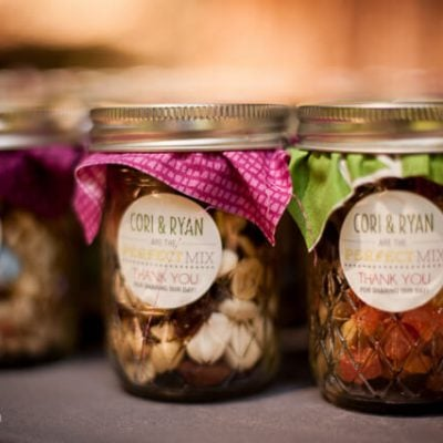 Our Wedding: Trail Mix Favors