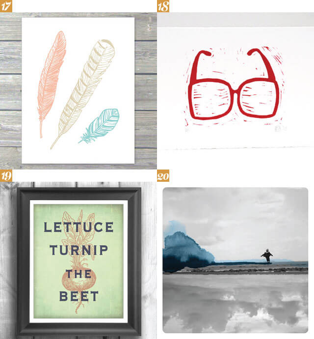Art Print Selection from Let's Eat Grandpa