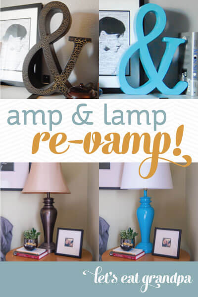 Lamp and Amp Revamp from Let's Eat Grandpa