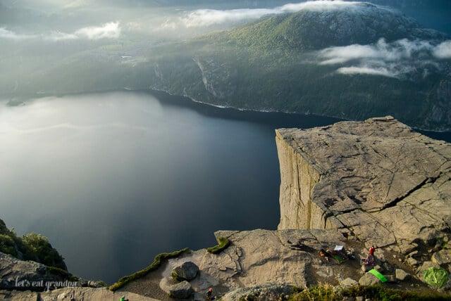 Honeymoon Travelogue Preikestolen Norway Let's Eat Grandpa
