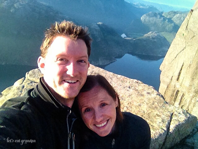 Honeymoon Travelogue Preikestolen Norway Let's Eat Grandpa
