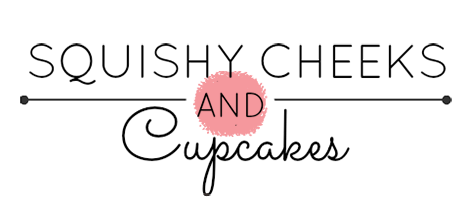 Squishy Cheeks and Cupcakes Logo