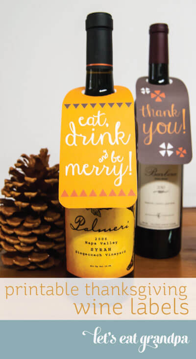 Free printable wine labels for thanksgiving and christmas for Free wine label maker