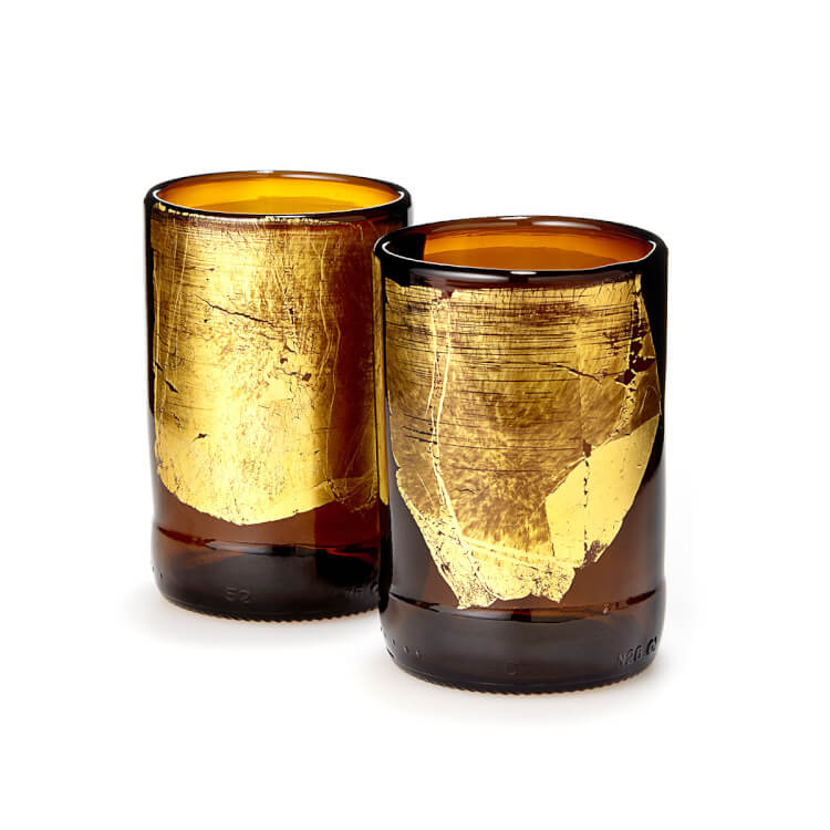 Uncommon Goods Upcycled Beer Bottle Tumblers Let's Eat Grandpa
