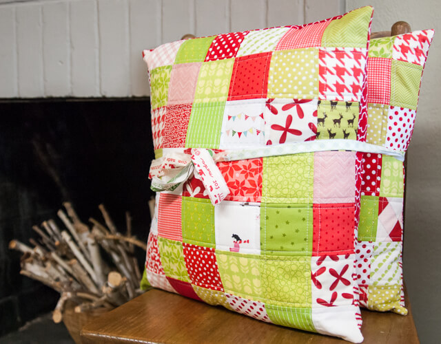 Christmas Pillows by Let's Eat Grandpa