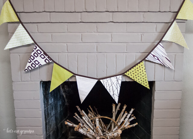 Woodland Pennants by Let's Eat Grandpa