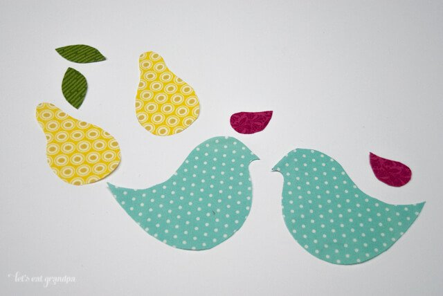 Partridge and Pear Pattern and Tutorial by Let's Eat Grandpa