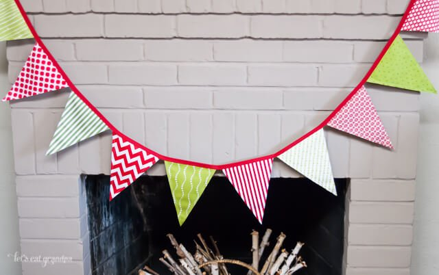 Christmas Pennants by Let's Eat Grandpa