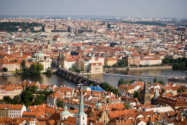 Honeymoon Travelogue Prague Let's Eat Grandpa