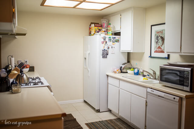 Real Life Renovation Kitchen Remodel Before   Let's Eat Grandpa