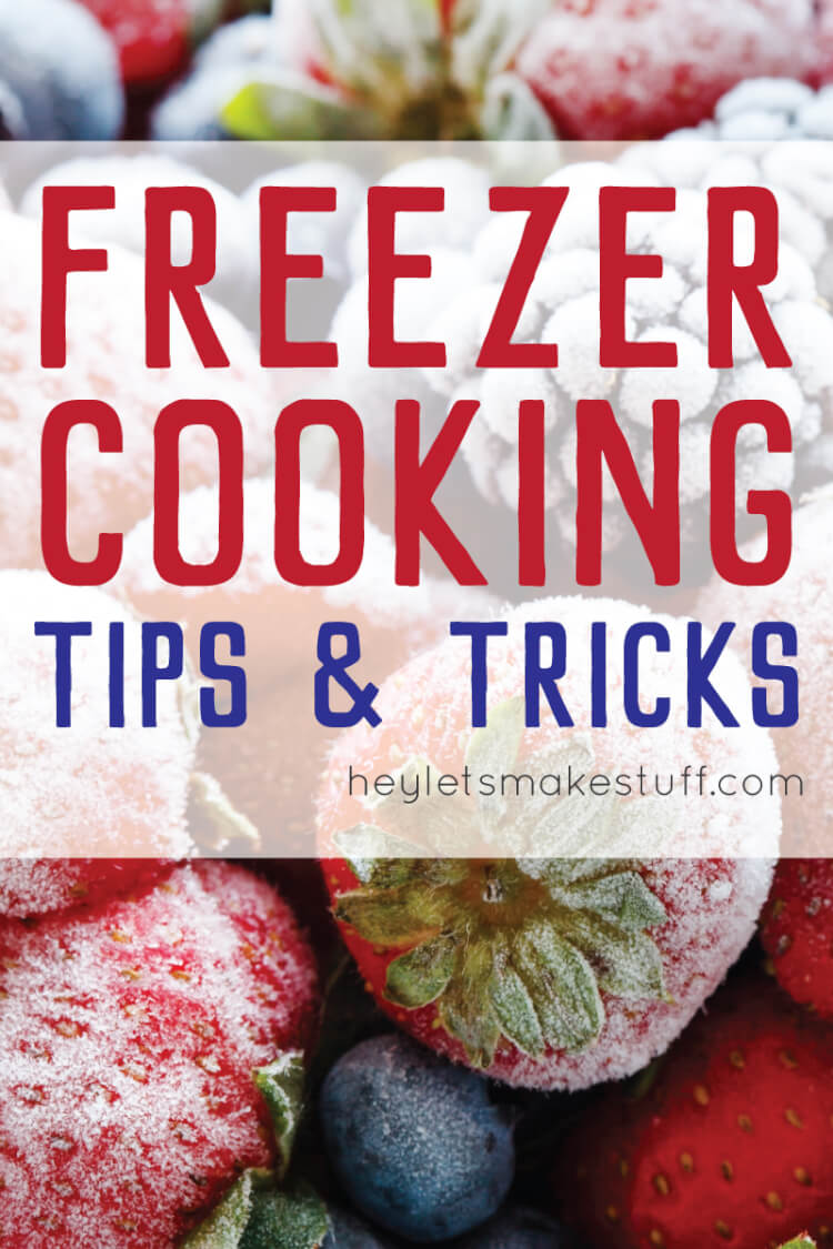 Freezer cooking is a great way to cook in one day! Here are my best freezer cooking tips and tricks.
