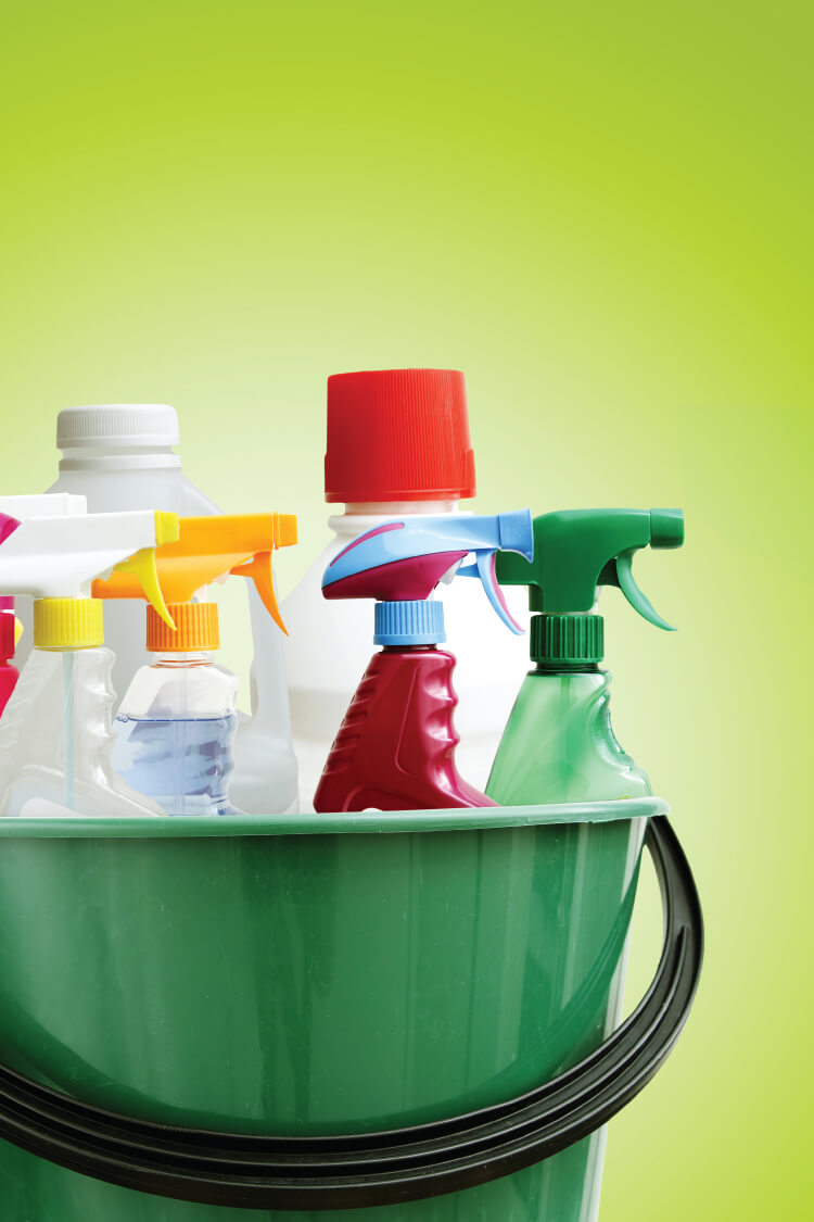 Clean out under your kitchen sink and learn all of the legal ways to dispose of any toxic chemicals you don't want in your home anymore.