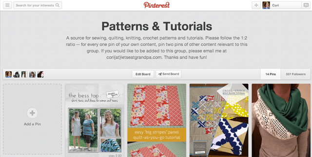 Patterns & Tutorials on Pinterest | Let's Eat Grandpa
