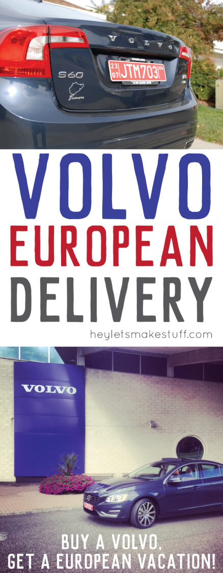 The Volvo European Delivery program is the best way to take a European vacation! Pick up your Volvo in Gothenburg, and drive around Europe. It's amazing!