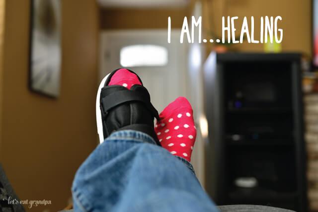 I am healing | Let's Eat Grandpa