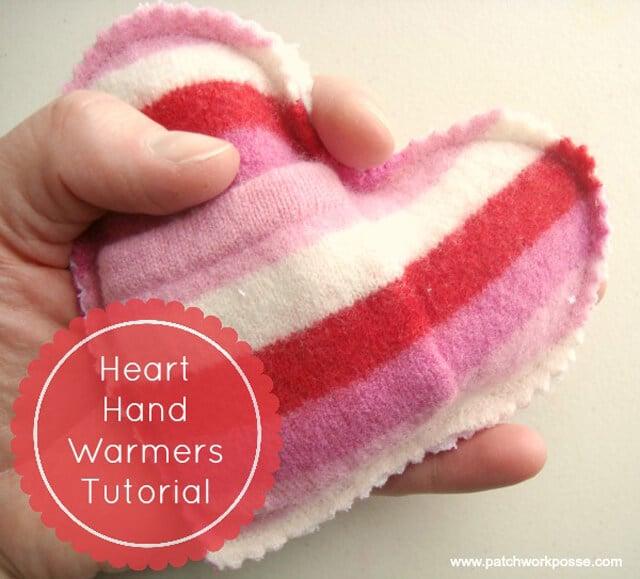 Patchwork Posse - Heart Handwarmers