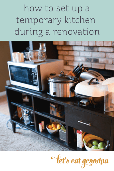 Surviving Without a Kitchen During Your Remodel