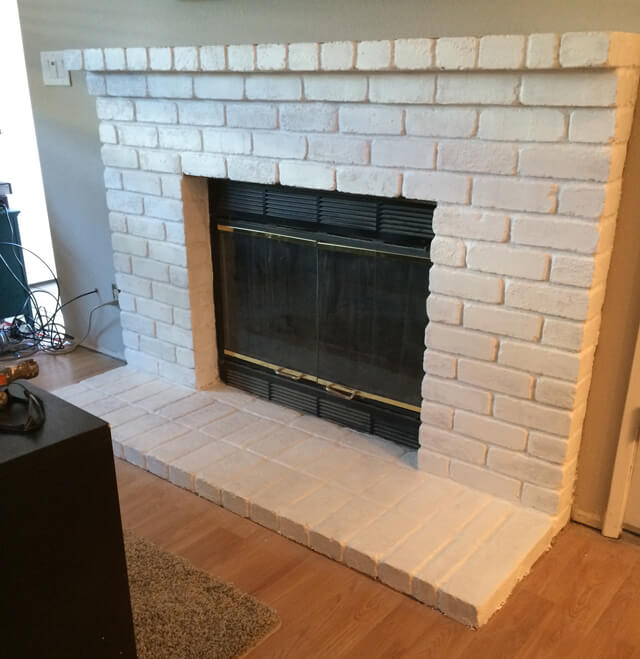 How to Repaint a Fireplace | Let's Eat Grandpa
