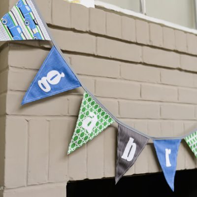 Personalized Pennants – Now for Sale in My Shop!