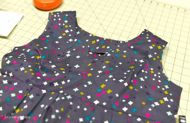 WIP Wednesday Washi Tunic | Let's Eat Grandpa