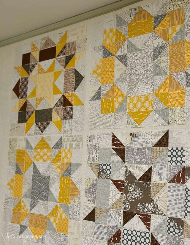 WIP Wednesday Swoon Quilt | Let's Eat Grandpa
