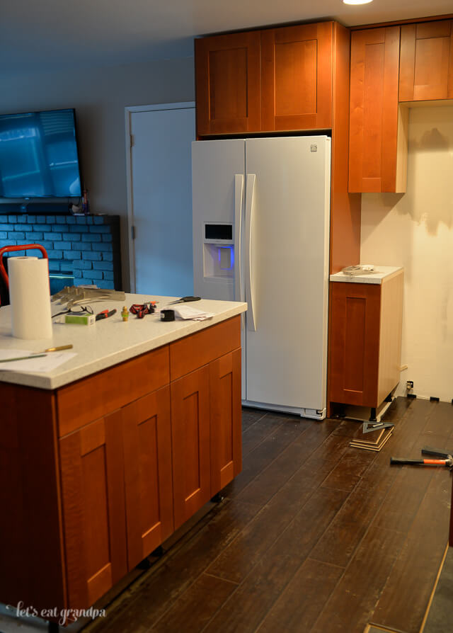 Real Life Kitchen Renovation Week 9   Let's Eat Grandpa