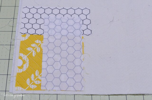 quilting tutorial with first block