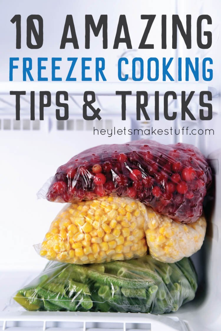 These are the best freezer cooking tips and tricks to help make your day of cooking go smoothly.