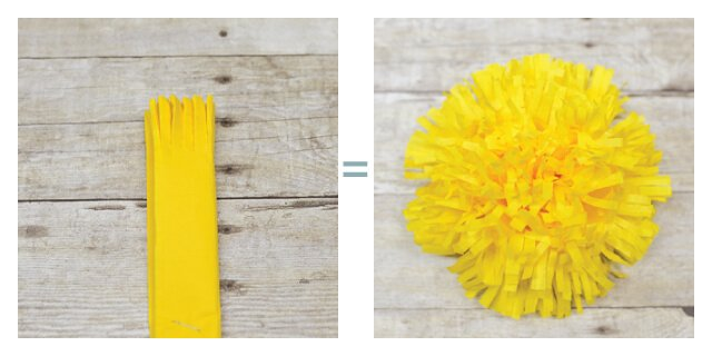 How to make tissue paper flowers four ways hey lets make stuff tissue paper flowers fringe mightylinksfo
