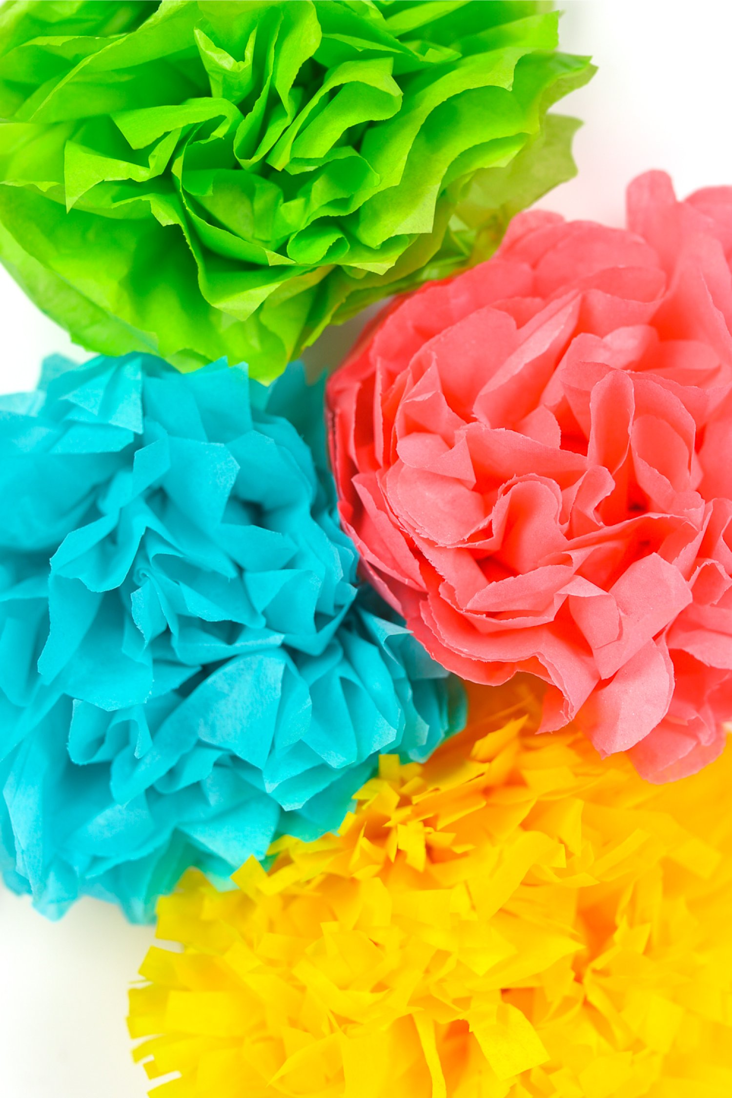 How to Make Easy Paper Flower | Making Paper Flowers Step by Step ... | 2250x1500