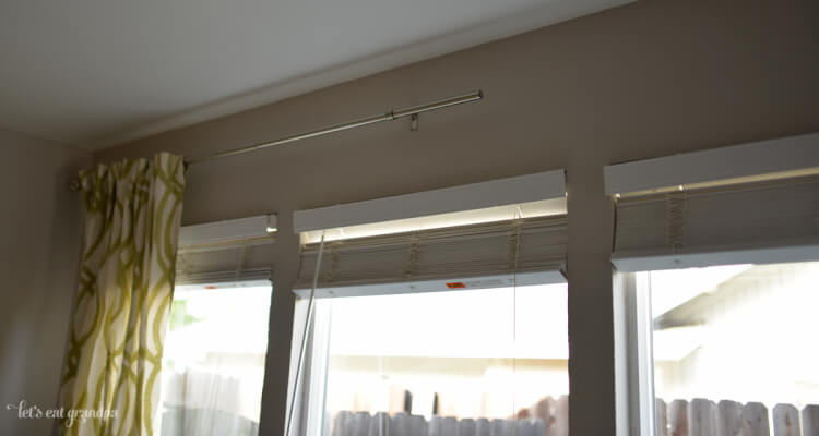 Learn how to hang curtains, quickly and easily!