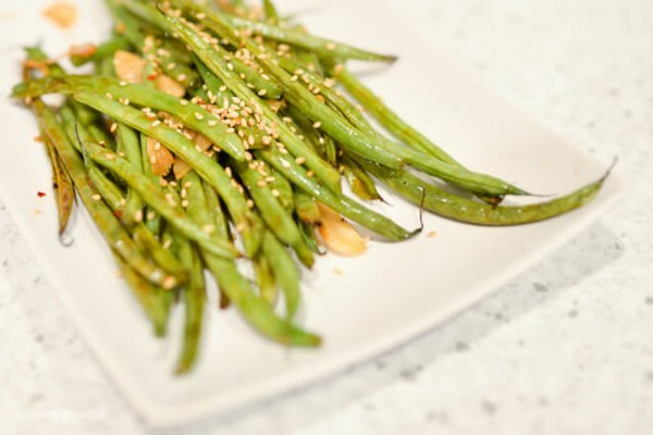 Recipe for the world's best green beans, cooked four ways!