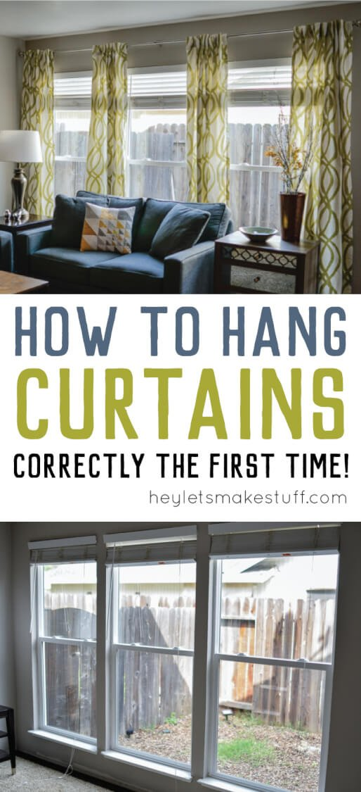 Hanging Curtains Doesnu0027t Have To Be A Pain! Learn How To Hang Curtains