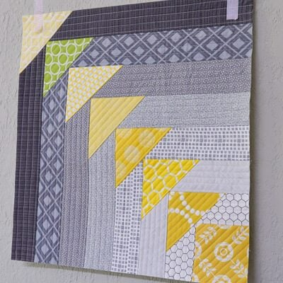 North West Quilt-As-You-Go Block Tutorial