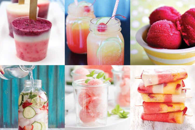Check out more than 20 delectable sweet treats to beat the heat this summer!