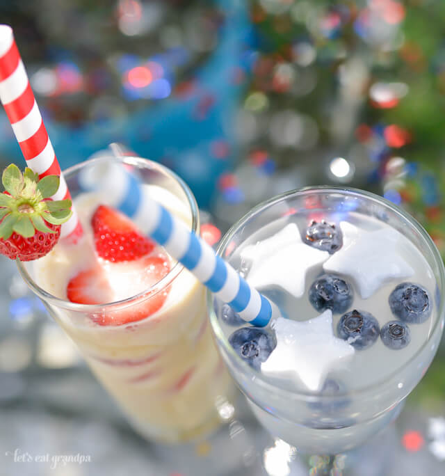 Cool off and celebrate the Fourth of July with these fun and festive stars and stripes drinks!